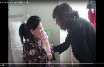[Video] Ministra del trabajo y previsión social, Alejandra Krauss realizó entrega de ajuares de maternidad en hospital regional de Talca.