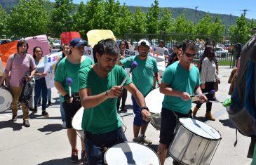 Batucada por la sustentabilidad en Universidad Autónoma