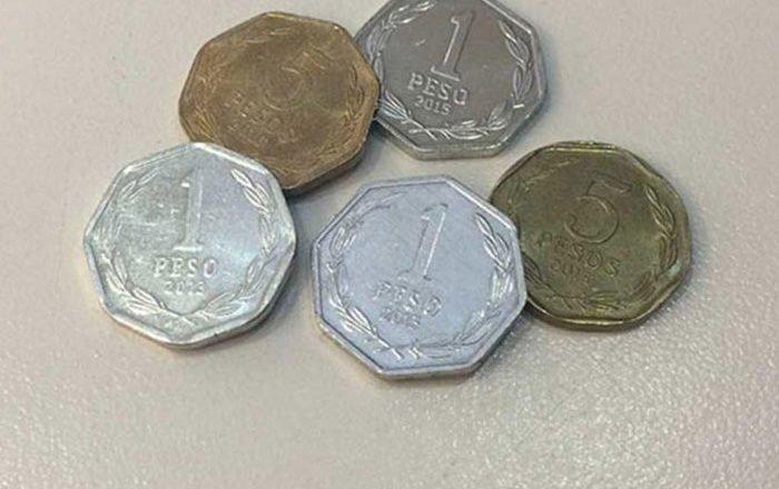 Comenzó el retiro de monedas de 1 y 5 pesos