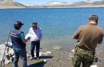 Sernapesca fiscalizó a quienes realizan pesca recreativa en el Maule