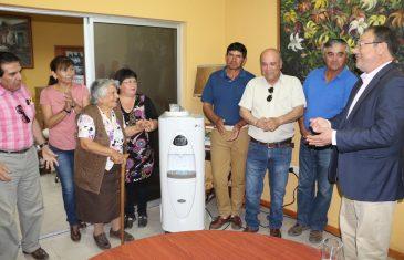 Entrega generadores de agua atmosférica para zonas con déficit hídrico