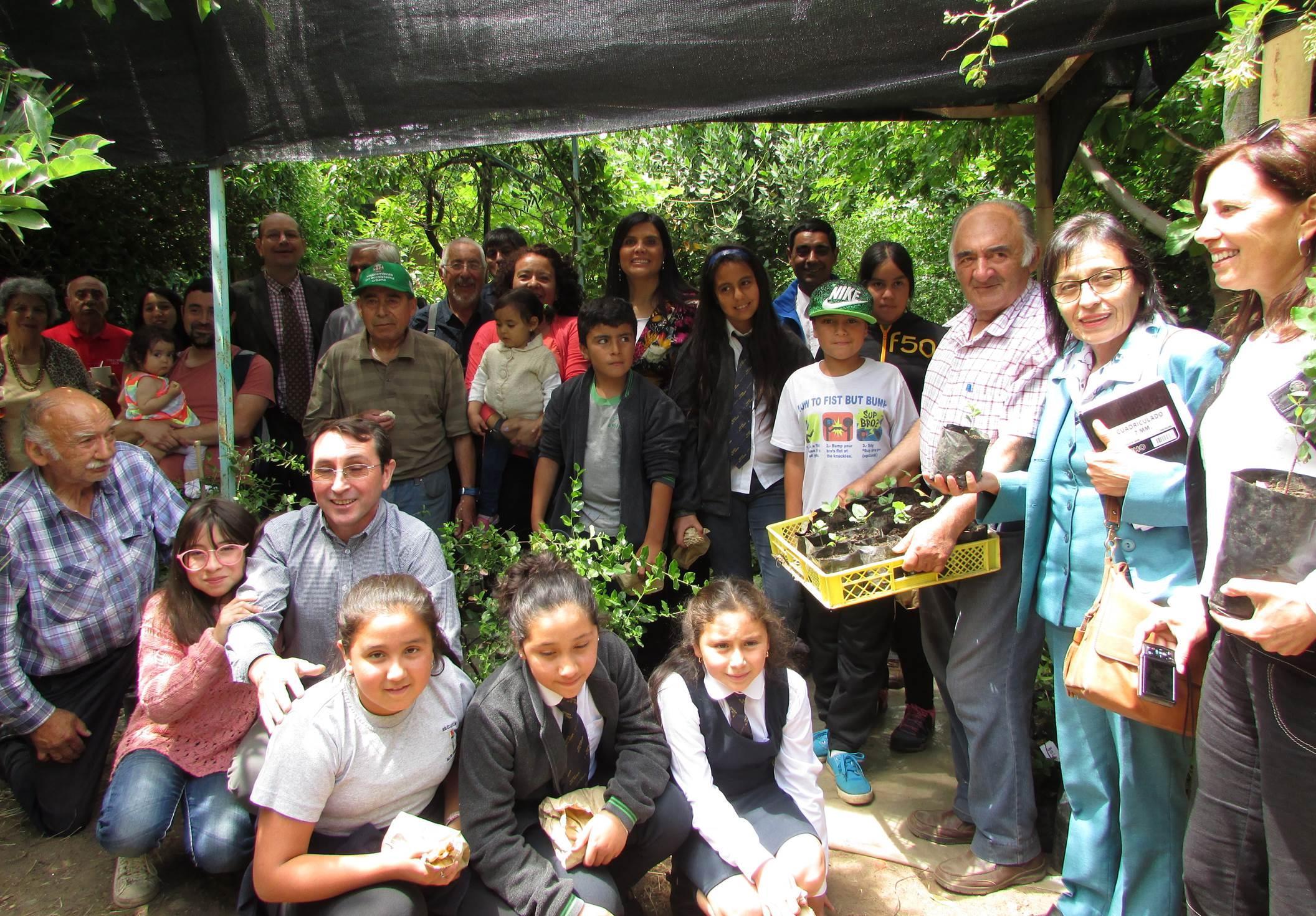 Club del rbol construy vivero con especies nativas for Viveros en talca