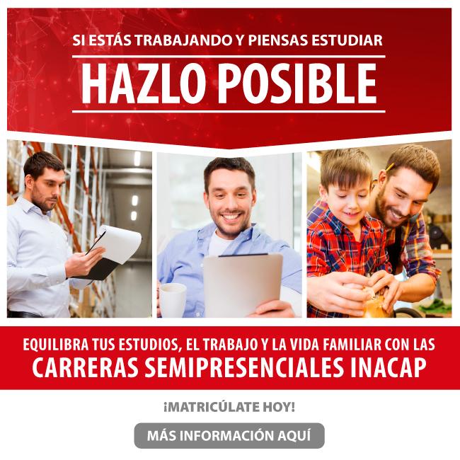 Admisión Inacap, Click para más información