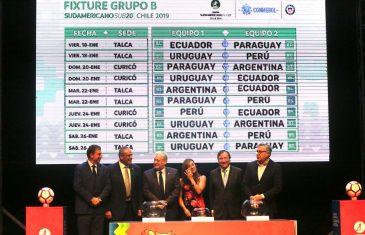Talca recibirá a selecciones deportivas extranjeras en Sudamericano Sub 20