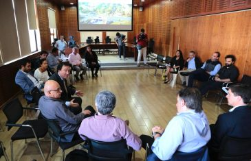 Alcalde de Talca exige a representantes del ministro Fontaine que se incluya propuestas locales en torno a proyecto bypass