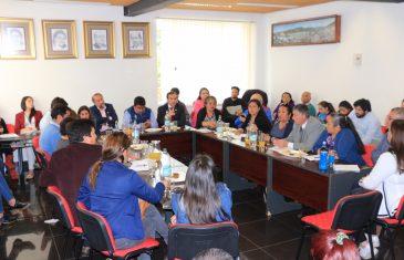 Vecinos de Santa Olga se reunieron con gobernador de Talca
