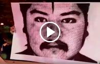 A un mes de la muerte de Camilo Catrillanca se realizó un acto en conmemoración de su muerte en Talca