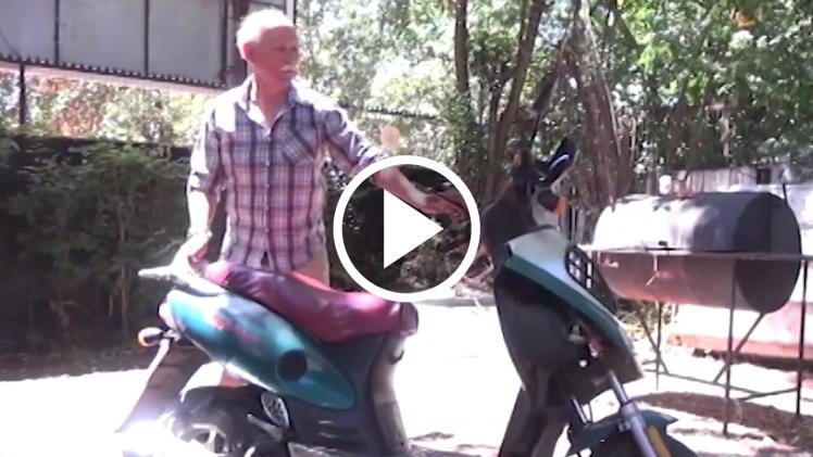 Carabineros recupera en sector oriente de Talca, motociclista robada a radio controlador radial.