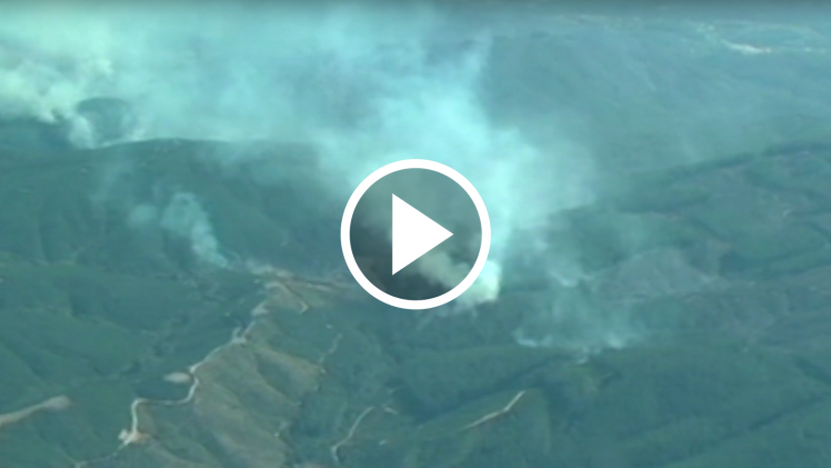 Intendente, Pablo Milad, preocupado por aumento de los incendios forestales en el Maule, respecto a igual periodo del año pasado.