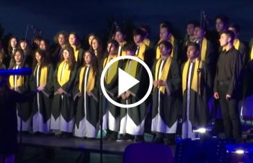 Concierto de navidad realizó la universidad Autónoma de Talca, acompañado de la orquesta clásica del Maule