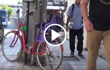 """Carabineros inicia campaña, """"Cuida tu bicicleta"""" para prevenir los robos."""