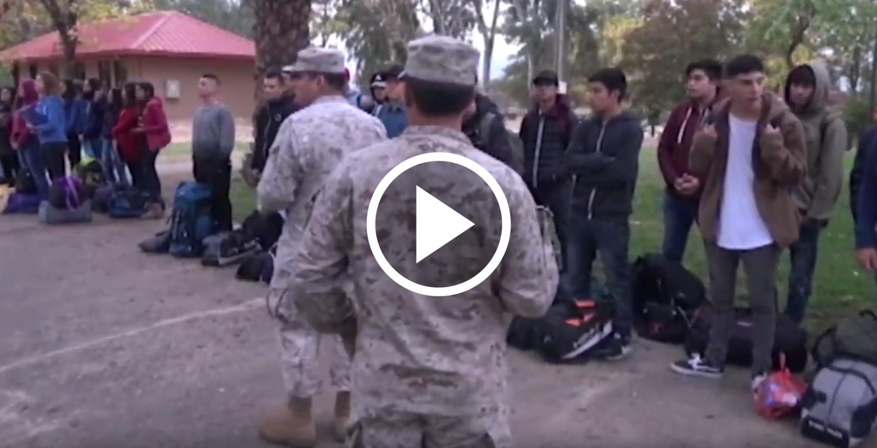 En emotiva actividad en el regimiento Talca, jóvenes conscriptos iniciaron a partir de hoy, su servicio militar 2019.