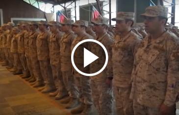 En el regimiento Talca, se celebró, el día del soldado conscripto, en conmemoración a la tragedia de Antuco, que enlutó el año 2015, al ejercito de Chile.