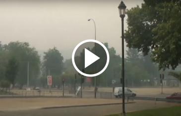 Ocho episodios críticos por mala calidad del aire se han producido hasta la fecha en Talca-Maule