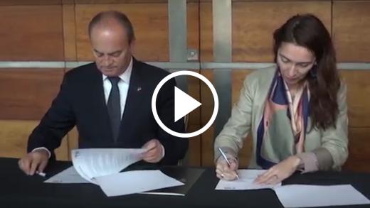 Club de leones y TRM firmaron un convenio de colaboración con el objeto de efectuar presentaciones culturales