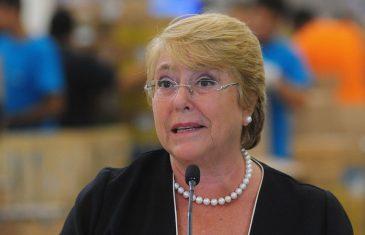 Michelle Bachelet descarta ser candidata a las elecciones del 2021