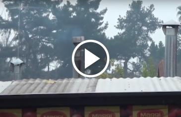 Talquinos reclaman por la mala calidad del aire en la comuna