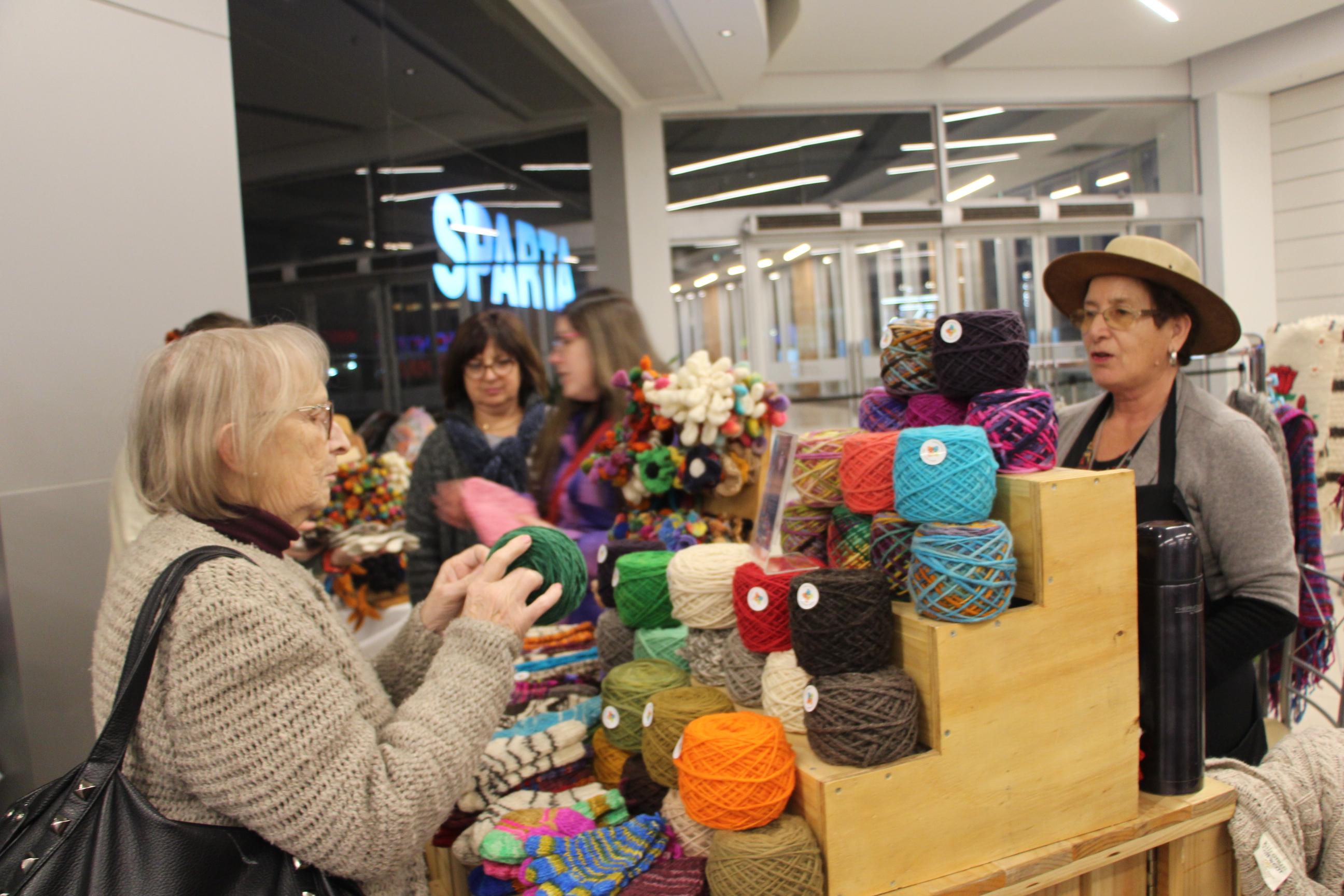 Segunda versión de Expo lanas en mall plaza Maule