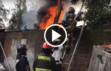 Incendio en Quiñantu Camino a Duao.