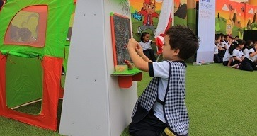 En el Maule 5.600 niños recibirán el rincón de juegos del gobierno