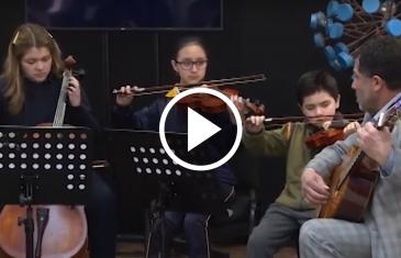 Empresa Arauco entregó financiamiento a orquesta sinfónica infantil juvenil de Constitución con el objeto de consolidar el trabajo de la agrupación