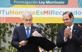 Presidente Piñera promulgó ley que permite dar nombre a hijo que muere antes de nacer