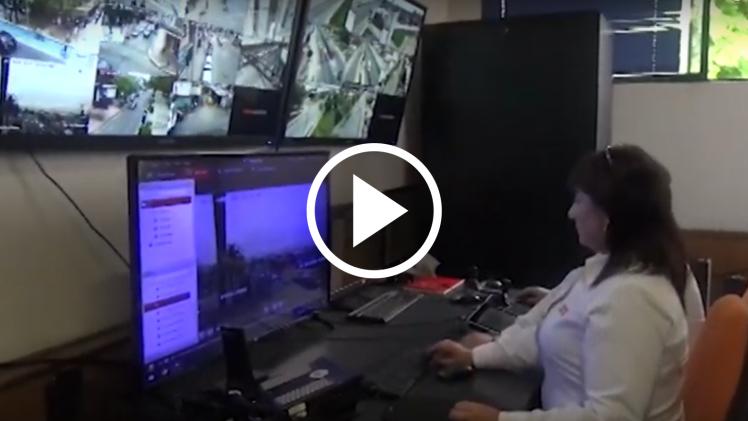 Municipio de Talca coloca en funcionamiento cámaras de teleprotección para mejorar la seguridad del sector sur poniente