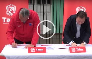 Alcalde de Talca e intendente firmaron convenio de colaboración para el desarrollo del proyecto barrio cívico de Talca