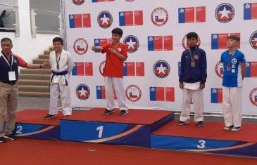 Niño de  12 años es convocado a la selección chilena de karate