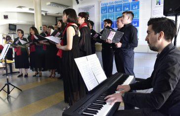 Concierto en Cesfam en Talca durante diciembre
