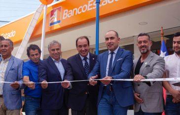 Hualañe cuenta con nueva sucursal bancaria
