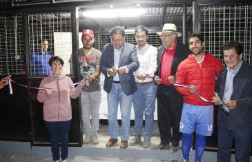 Cancha del club deportivo Placilla cuenta con iluminación