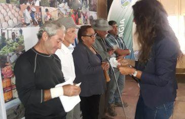 Vichuquén recibió recursos para obras menores de riego