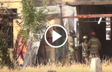 Durante la mañana de este martes se produjo un incendio al interior de las ex escuelas concentradas teniendo que llegar bomberos y carabineros.