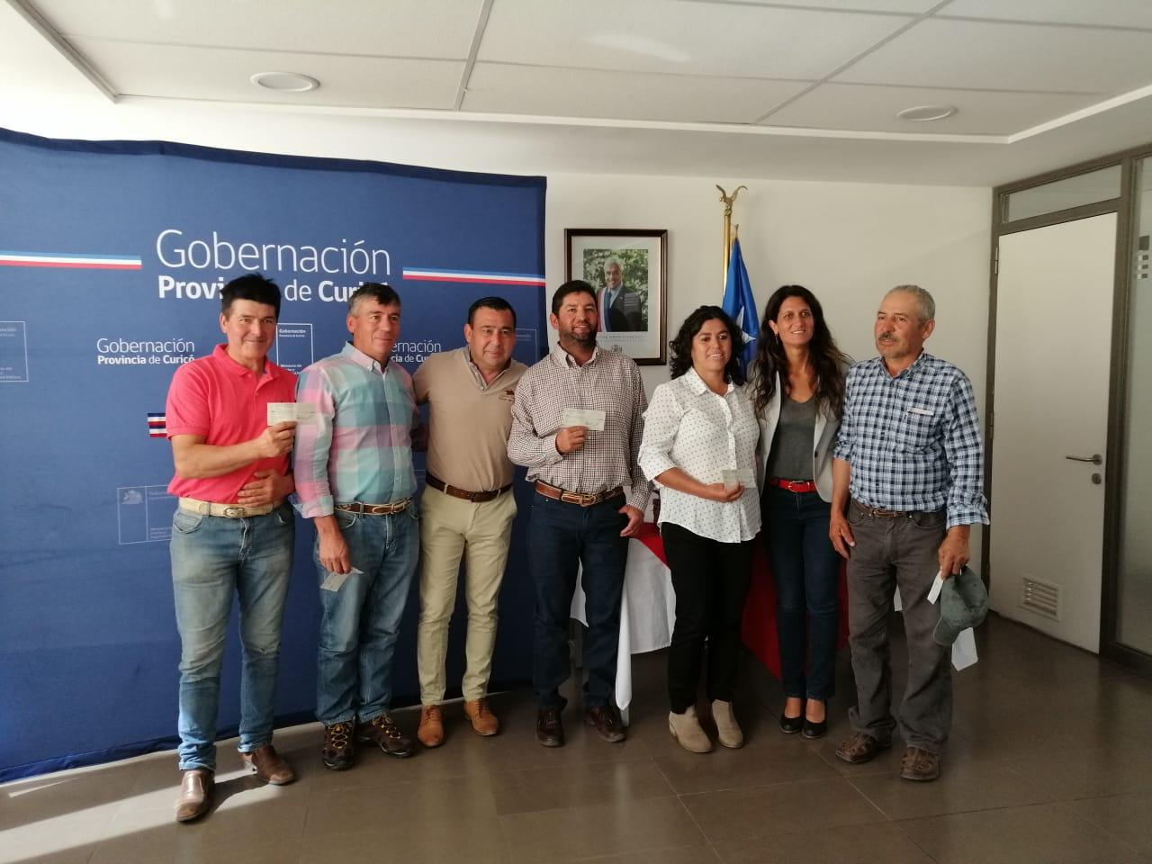 Pequeños agricultores de la provincia de Curicó podrán mejorar sus sistemas de riego
