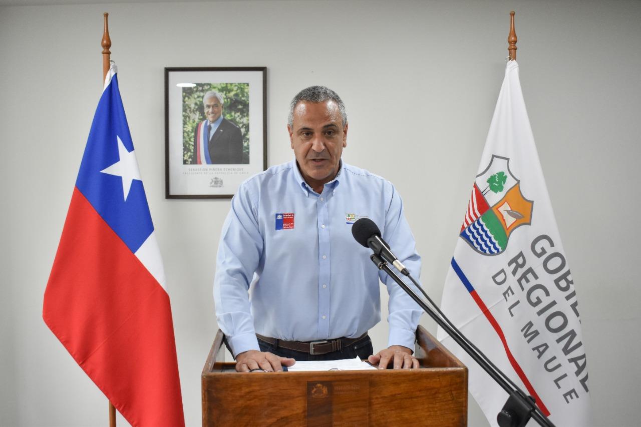 Intendente Milad anuncia acuerdos de la Mesa Social Covid-19