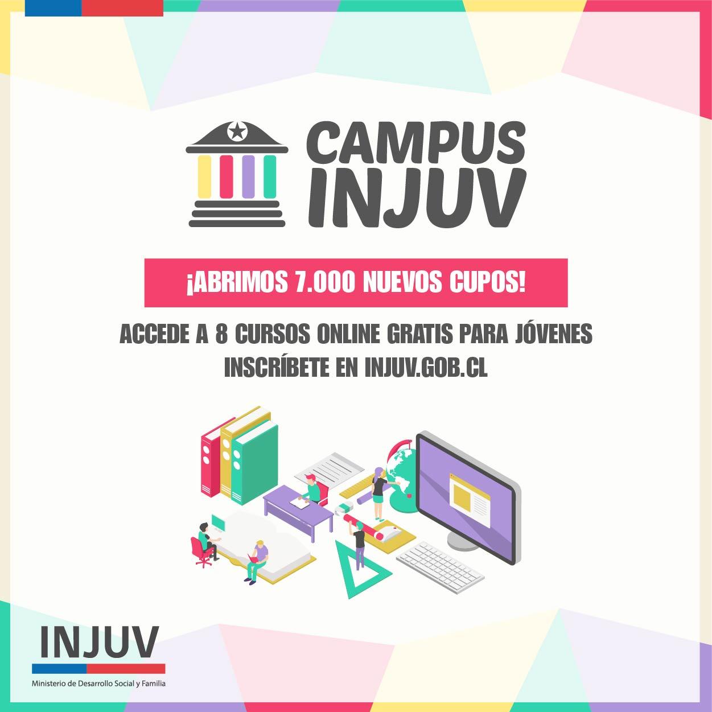 Cursos de formación gratuitos y online de INJUV