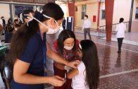 Colegios y jardines infantiles dependientes del municipio de Talca coordinar horarios para vacunar a los estudiantes y entregar canasta JUNAEB
