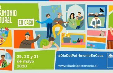 Ministerio de las Culturas anuncia #DíadelPatrimonioEnCasa