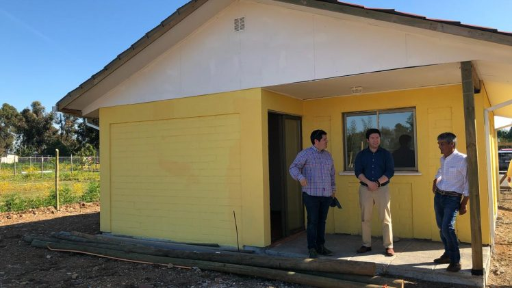 Ministro Monckeberg da luz verde a 160 nuevas viviendas rurales en El Maule