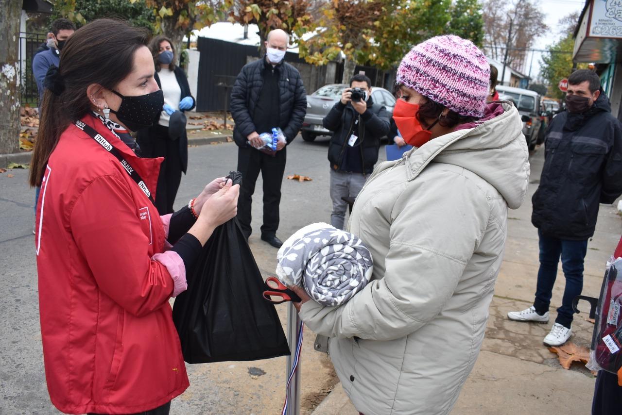 INJUV lanza campaña solidaria #MauleTeAbriga que busca ir en ayuda de las personas en situación de calle