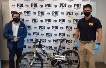 PDI Linares recupera bicicleta avaluada en 2 millones de pesos