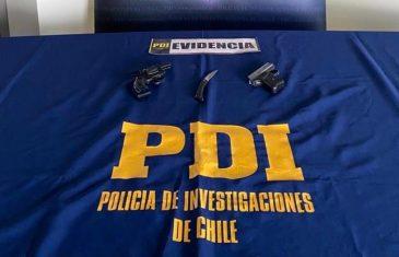PDI de San Javier incauta armas tras control policial