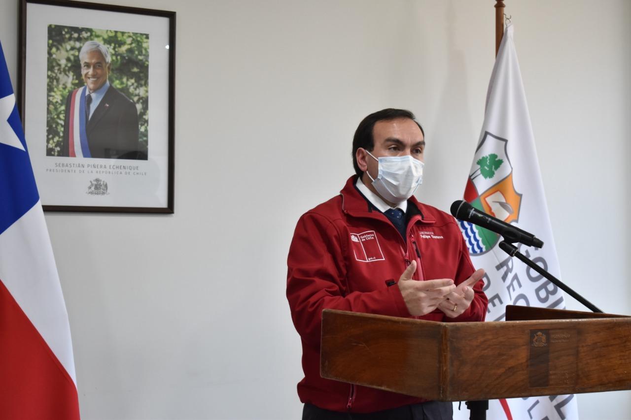 """Intendente (s), Felipe Donoso: """"el llamado a la comunidad es a informarse por los canales formales"""""""