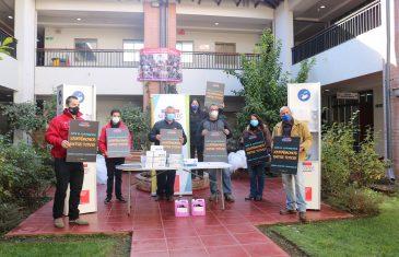Feria agrícola de san clemente recibió kit de Sanitización como medida preventiva frente al covid-19