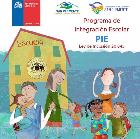 Programa de integración escolar (PIE) de san  Clemente continúa con proceso de postulación