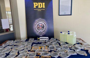 PDI de San Javier detiene en flagrancia a delincuente