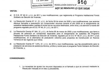 "MINVU otorgó subsidios a 133 familias del grupo habitacional villa ""Esperanza de Chile Nuevo"""