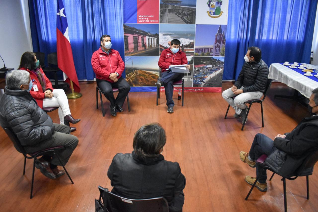 Intendente Prieto se reúne con alcaldes de la Provincia de Cauquenes