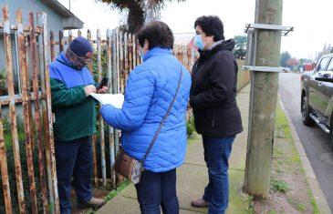 Municipio continúa entregando cajas del plan alimentos para chile a familias vulnerables de sectores urbanos y rurales de San Clemente